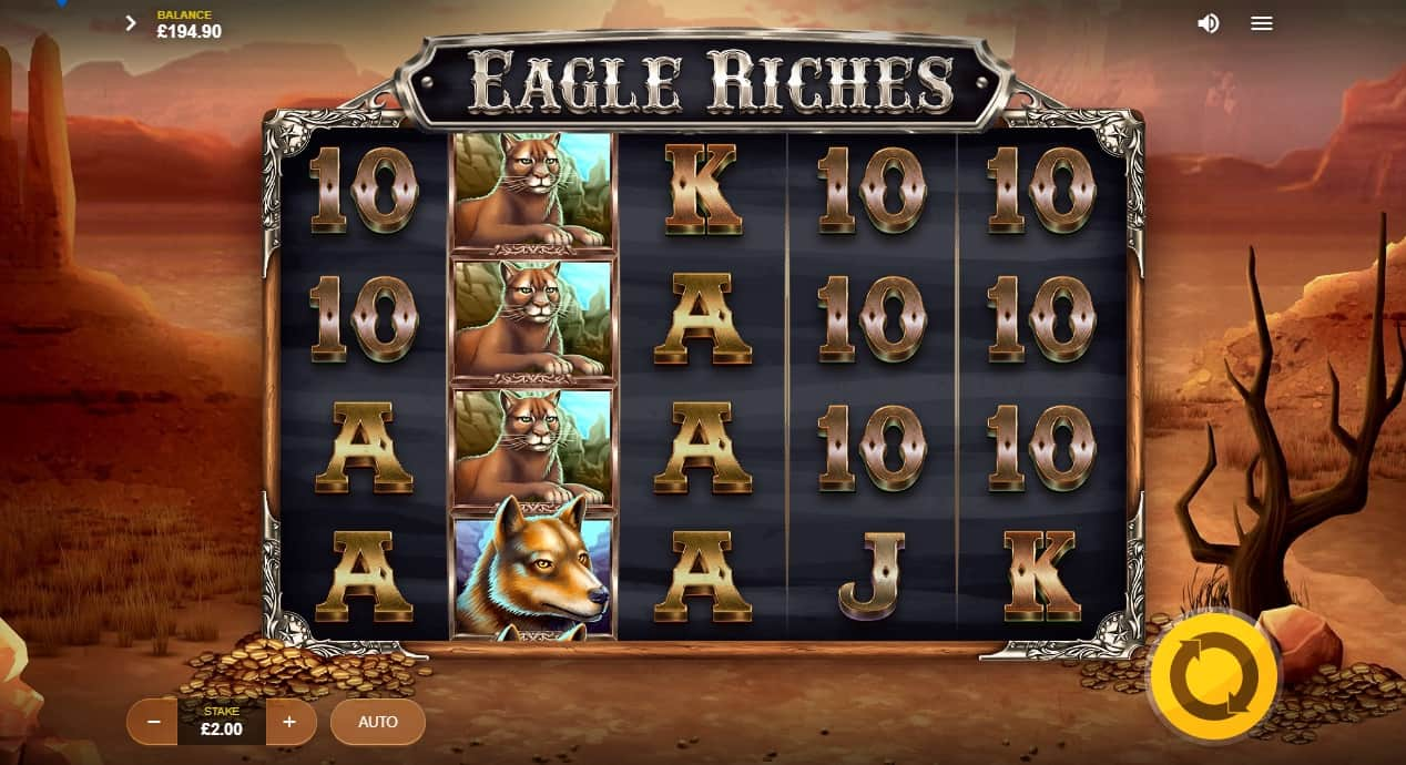 Eagle Riches reels