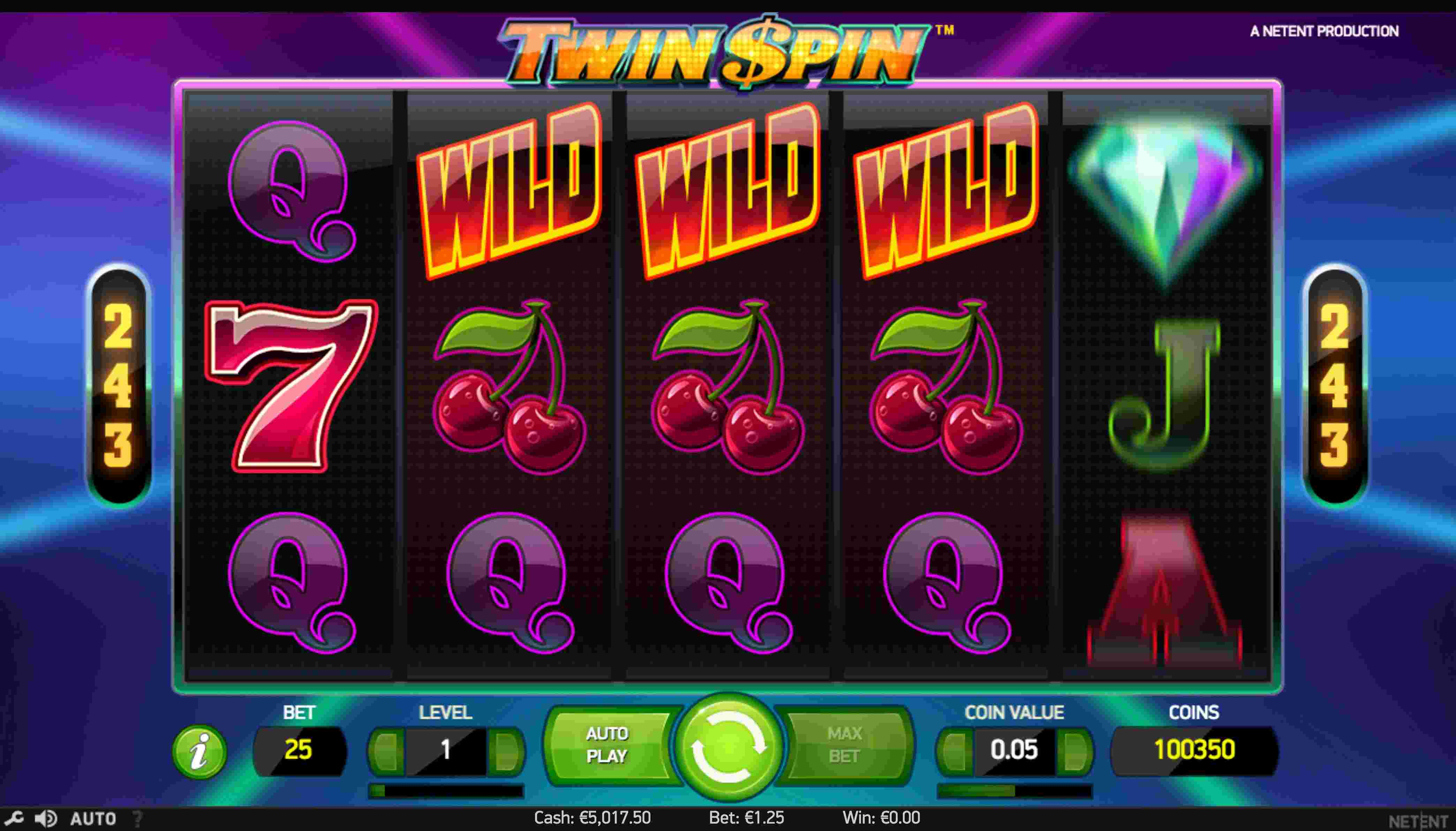 Twin Spin slot reels